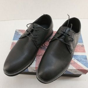 English Laundry Mens Chap Perforated Derby Shoe 11